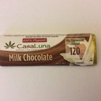 Milk Chocolate (120mg) - Chocolate - Casa Luna