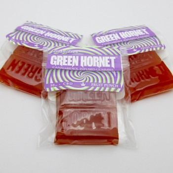 Green Hornet Gummies - CBD - Candy - Cheeba Chews