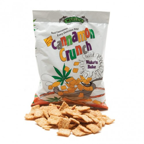 Cannamon Crunch, 150mg Logo