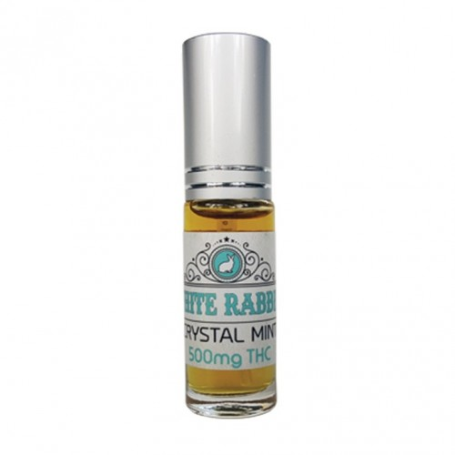 THC Crystal Mint Breath Tincture, 500mg Logo