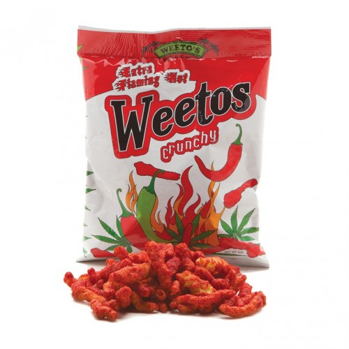 Extra Flaming Hot Weetos, 150mg Logo