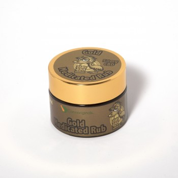 EMU 420 Gold Medicated Rub - Topical - Cannariginals